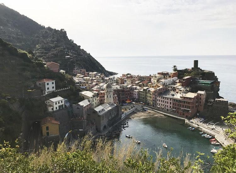 Solo Travel in CinqueTerre
